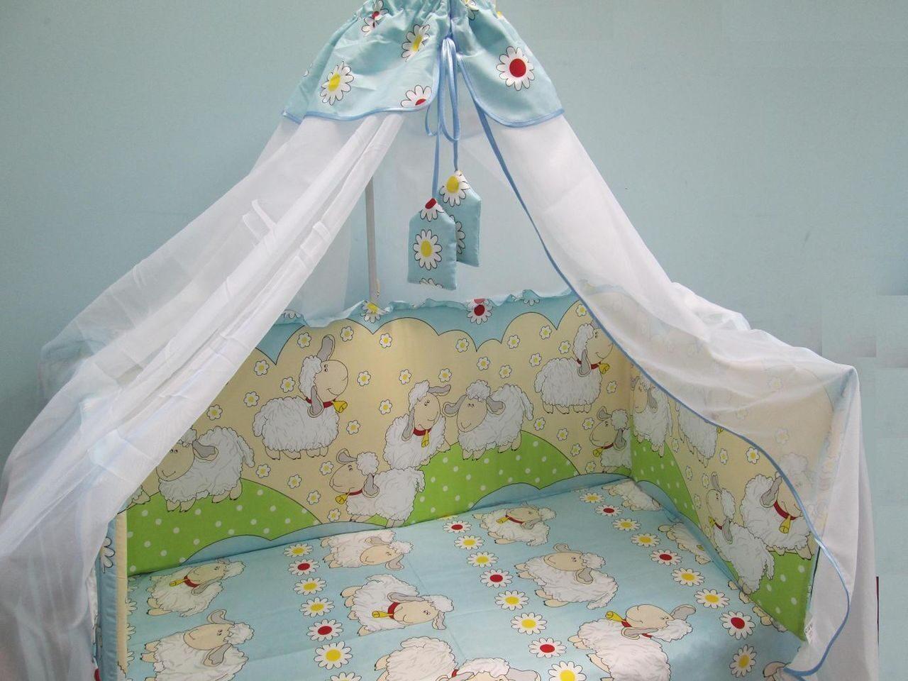 Как сшить балдахин на детскую кроватку: выбор ткани и 60